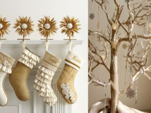 40 Beautiful Gold Christmas Decoration Ideas