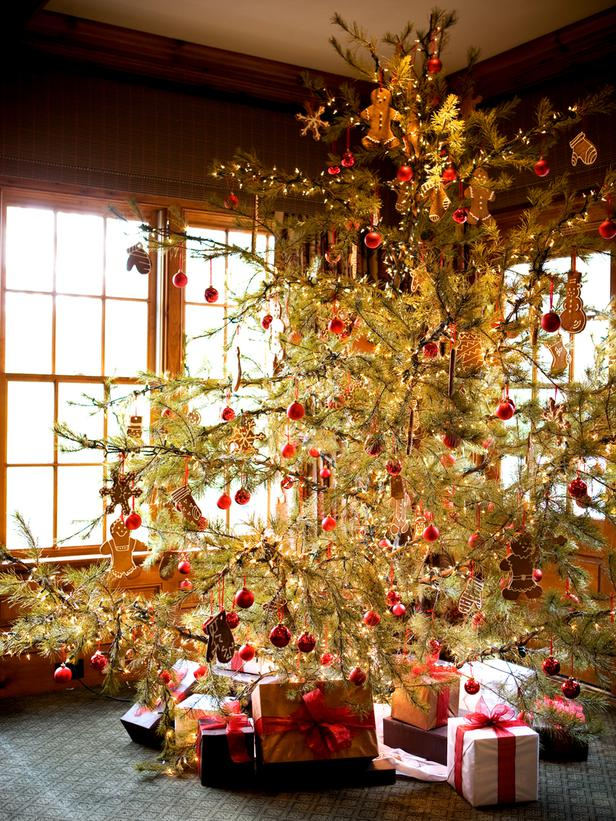 Rustic Christmas Trees Idea