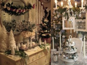 20 Awesome White Shabby Chic Christmas Tree