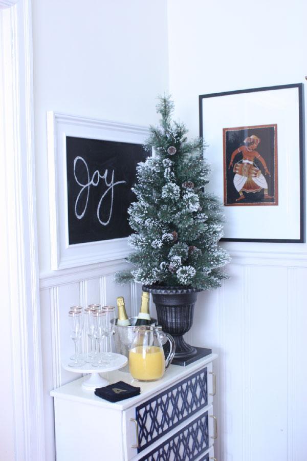 Small Apartment Christmas Tree