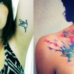 25 Cute Origami Inspired Tattoo Design Ideas