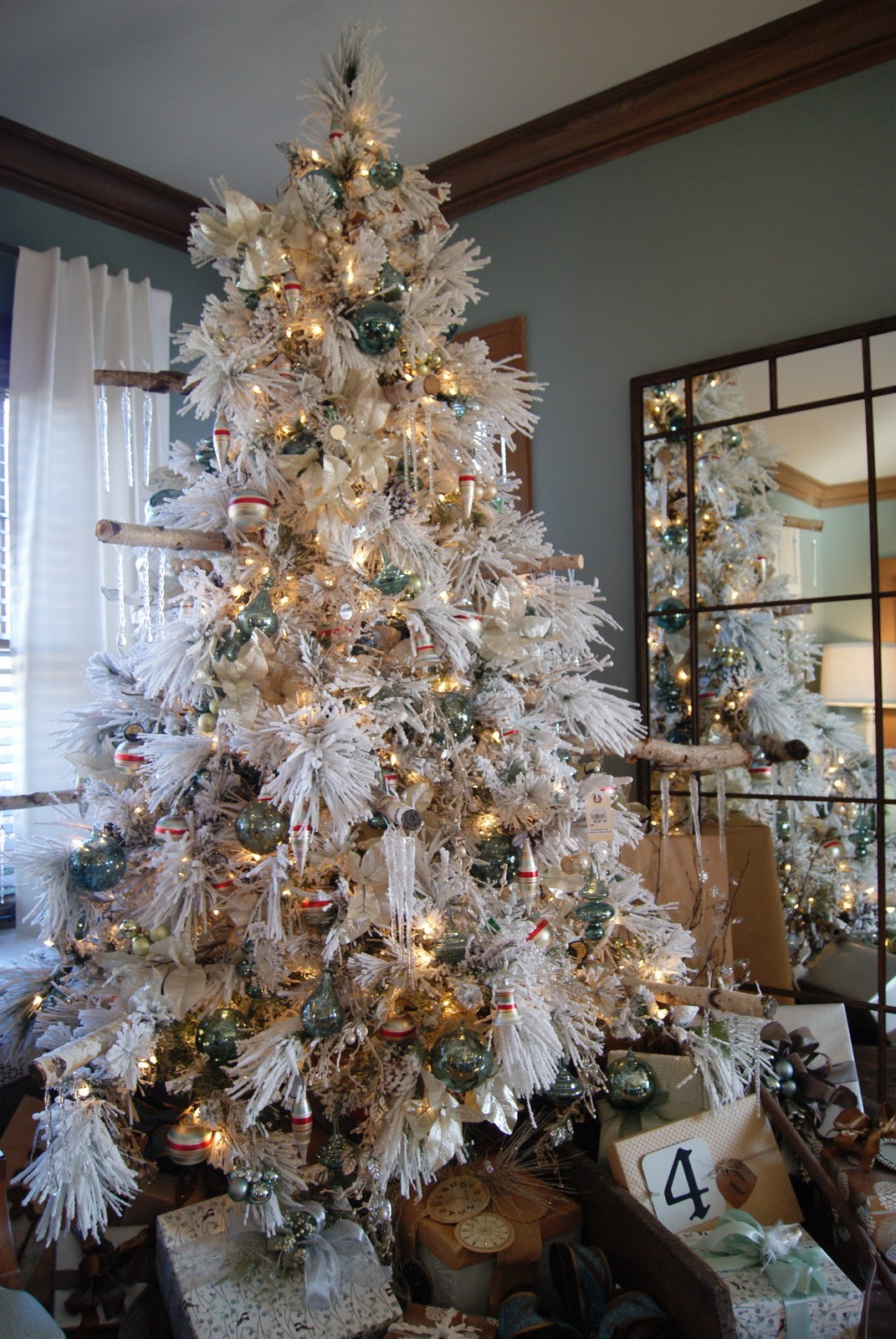 25 fantastic white christmas decoration ideas for White xmas decorations