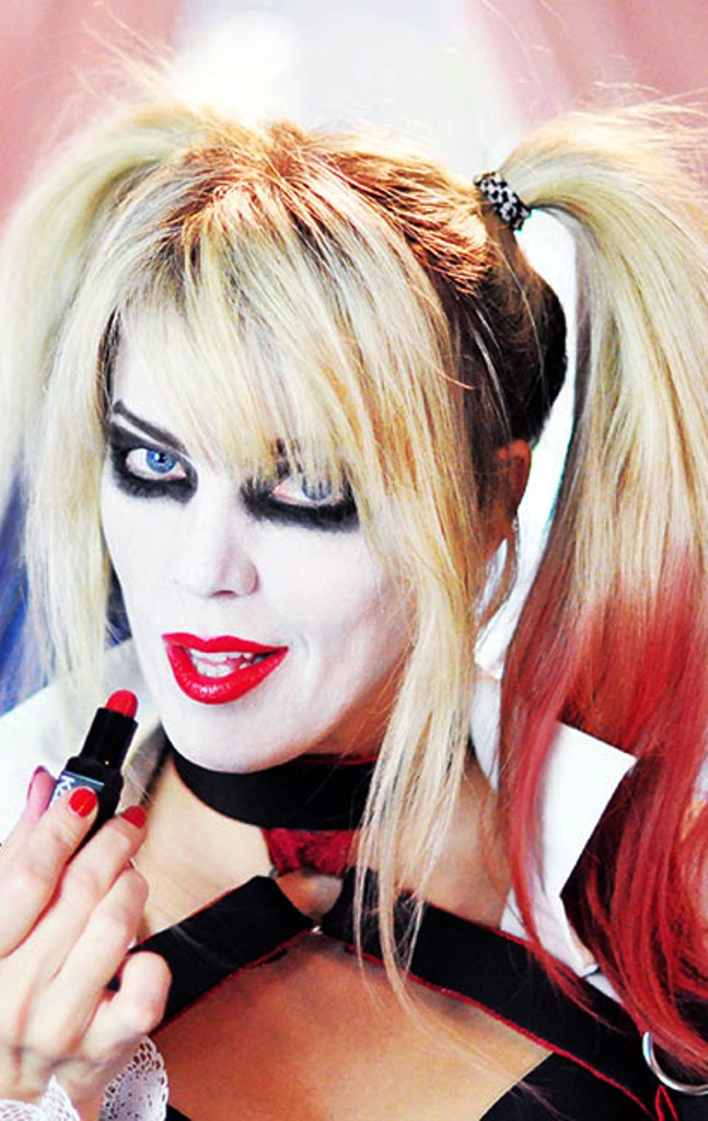 12 harley quinn hairstyle halloween makeup