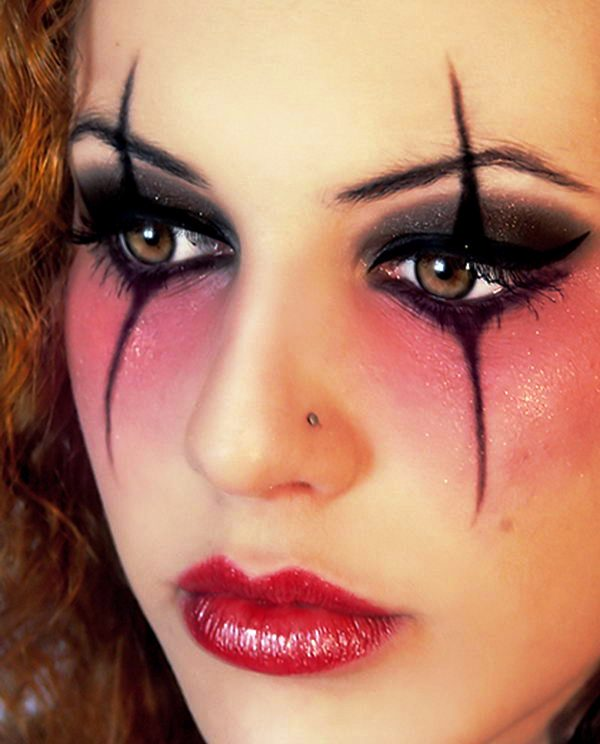 13 harley quinn eyes halloween makeup