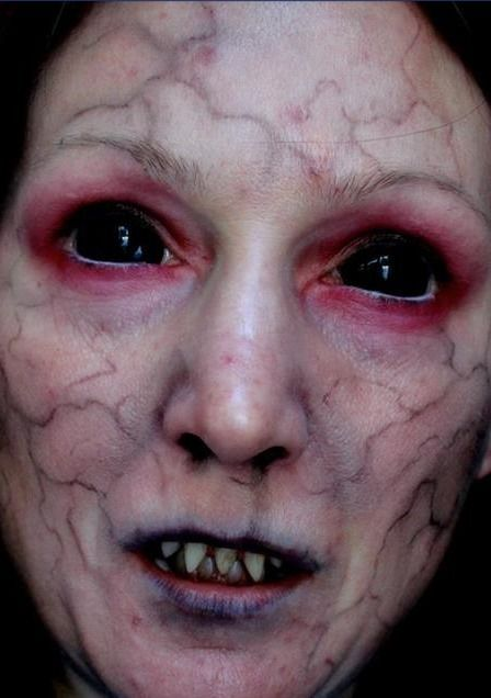 Dark Halloween Makeup Special Effects