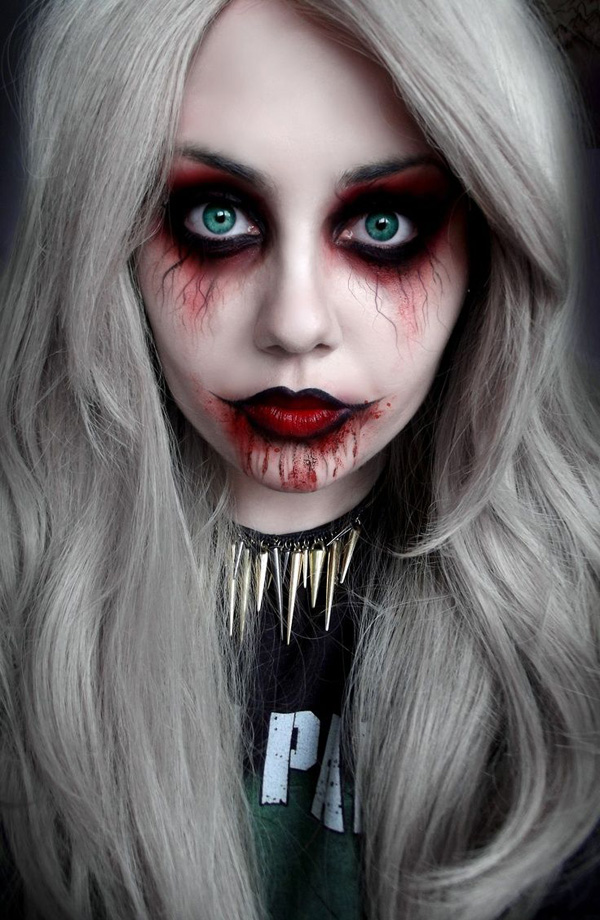 Awesome Dark Halloween Makeup