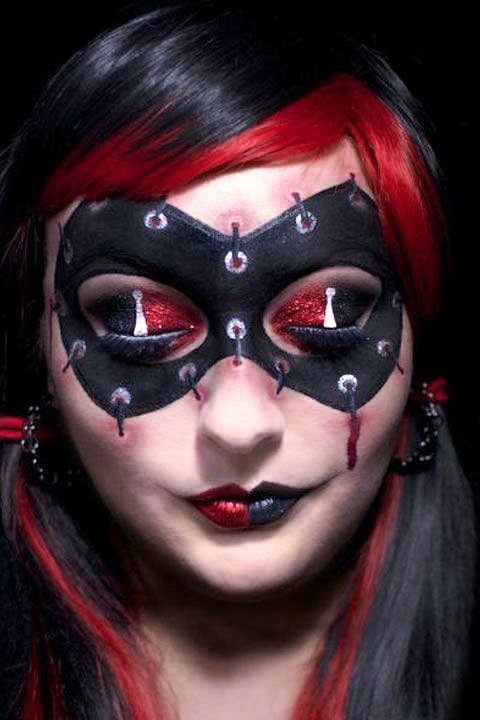6 awesome harley quinn halloween makeup