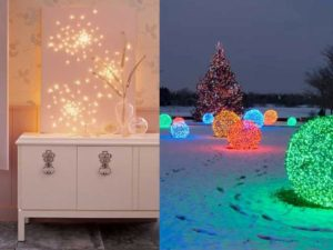30 Bright Christmas Light Decoration Ideas