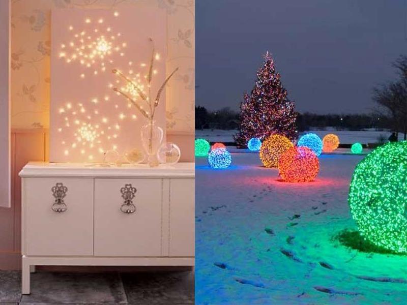 Christmas Light Decoration Ideas