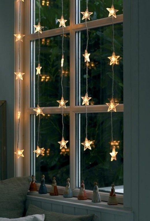Christmas Lights Window Decorating Ideas