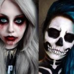 25 Awesome Dark Halloween Makeup Ideas