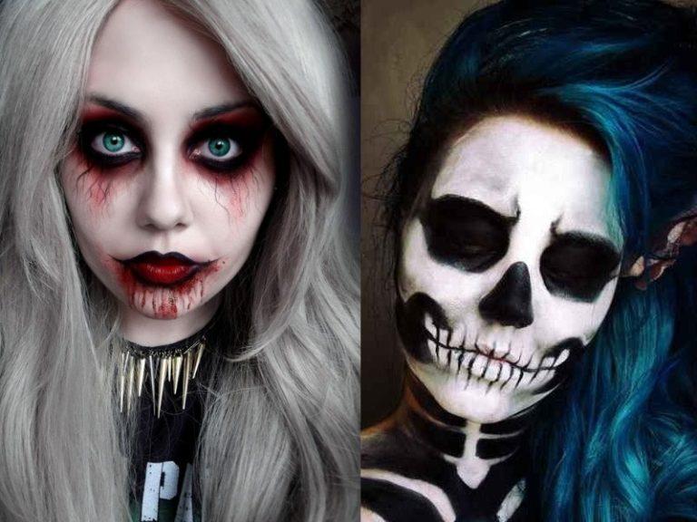 25 Awesome Dark Halloween Makeup Ideas