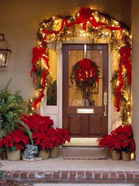 Front Door Christmas Decorations