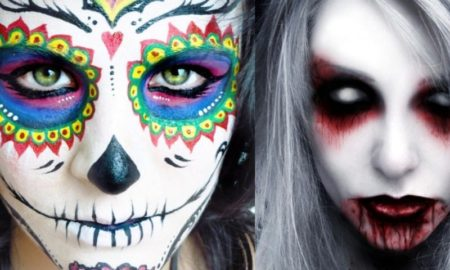 Halloween Ghost Make Up Ideas