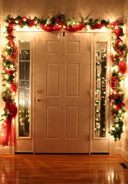Inside Front Door Christmas Decorations