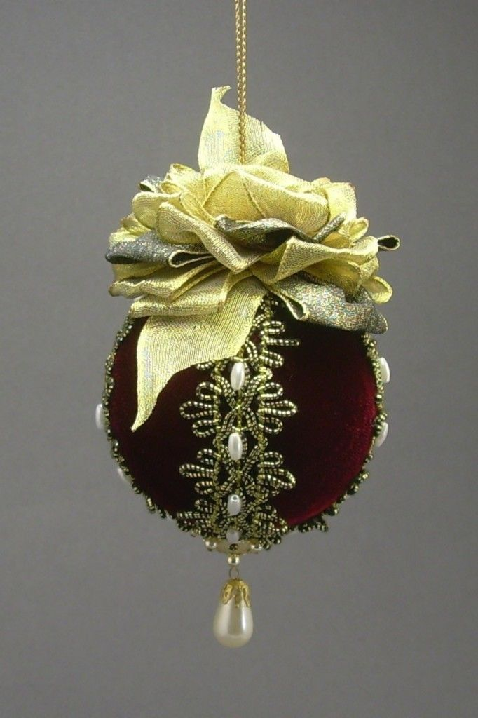victorian beaded christmas ornament victorian christmas ball ornaments
