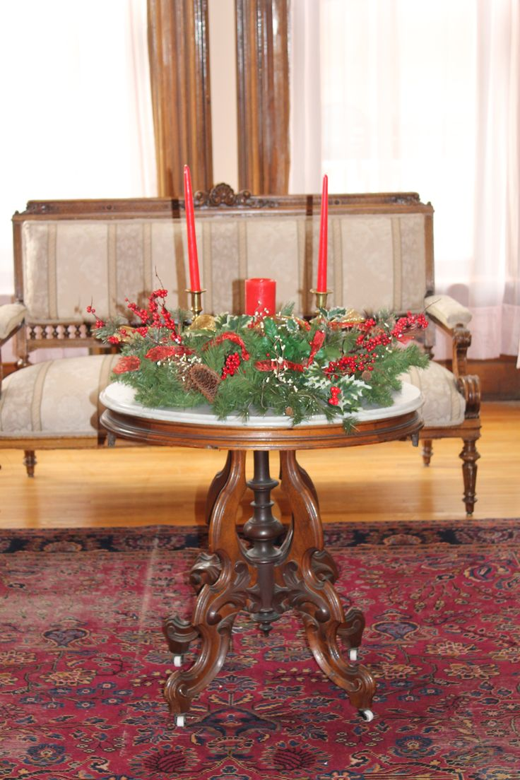 Victorian Christmas Table