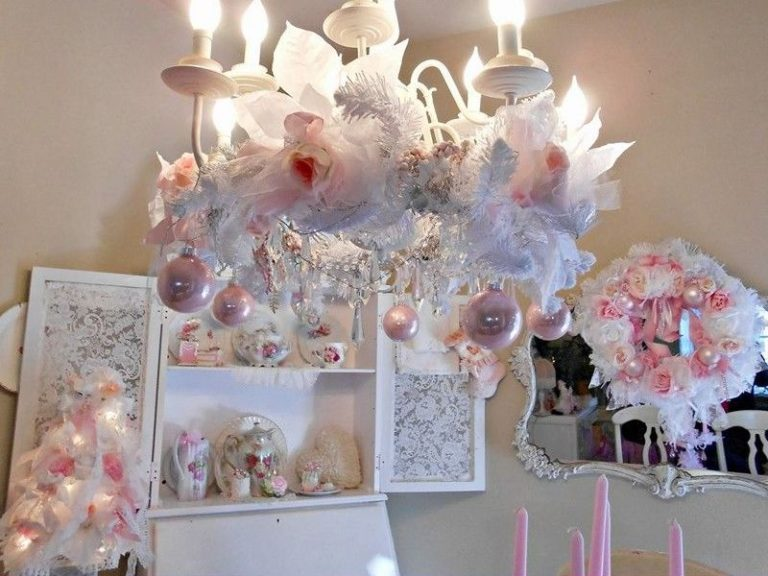 25 Shabby Chic Christmas Decoration Ideas
