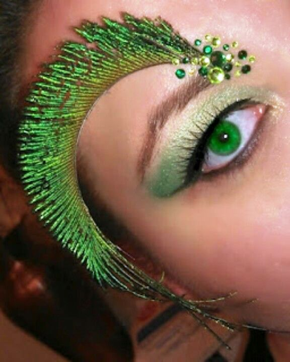 23 peacock halloween eyebrow makeup