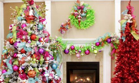 Alternative Christmas decorating