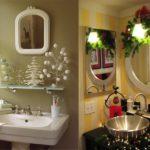 25 Bathroom Christmas Decoration Ideas