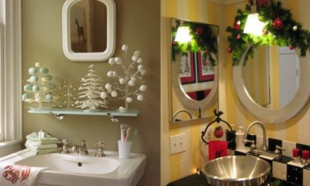 Christmas Bathroom Decoration