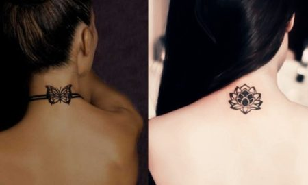 Cute Neck Tattoo ideas