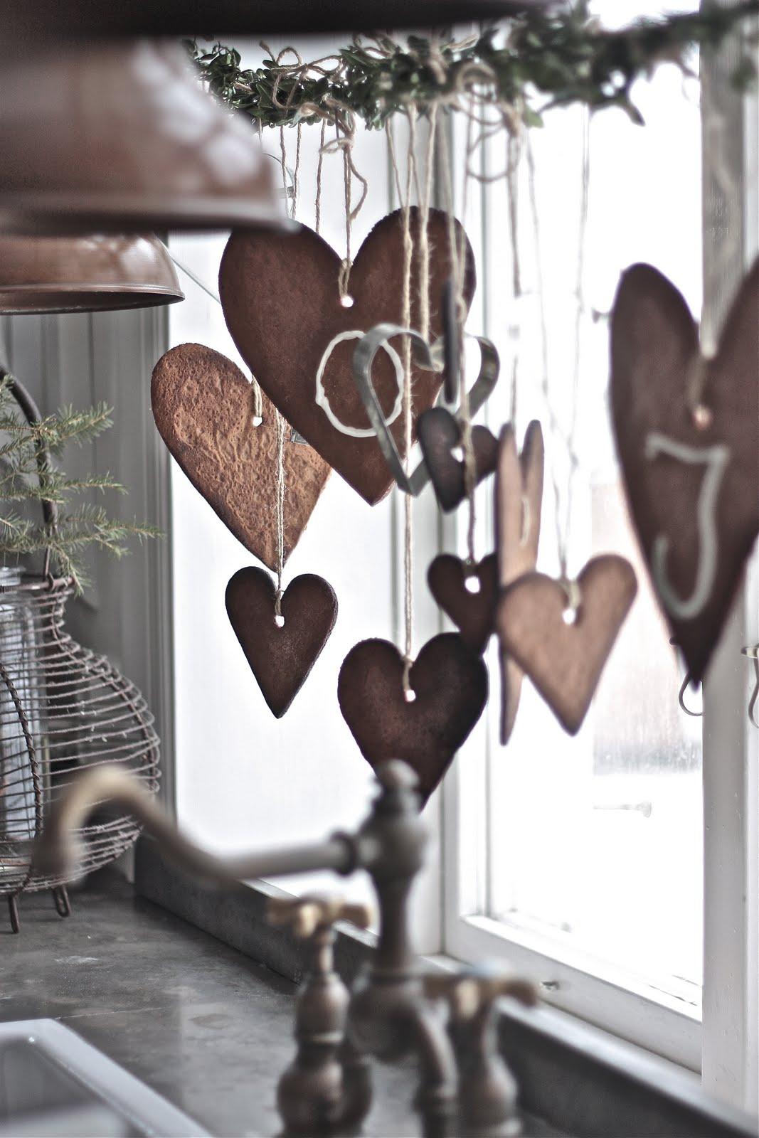 Heart Christmas Decorating Ideas