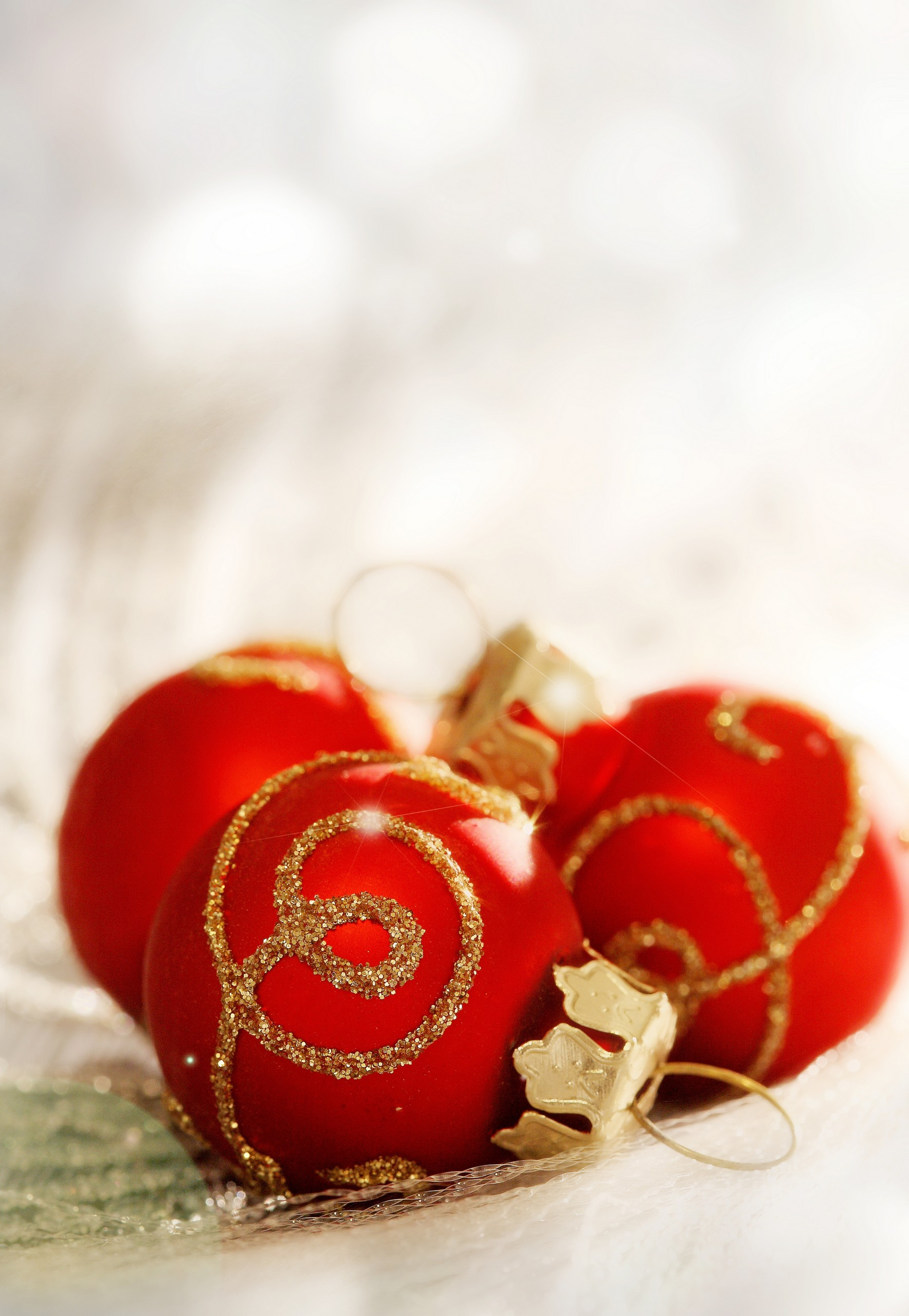 Red Christmas Ornament Decoration