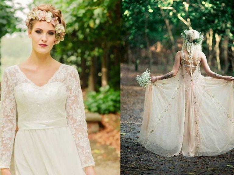 25 Amazing Bohemian Wedding Dress Ideas