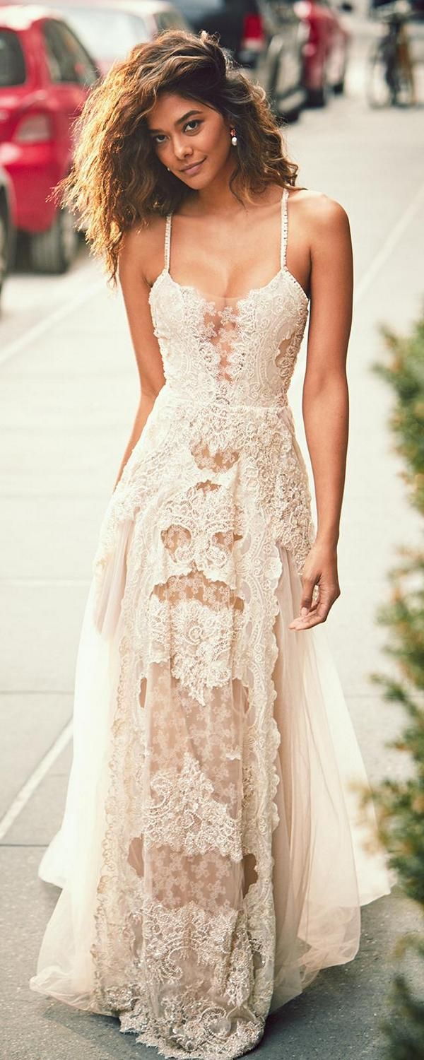 Bohemian Wedding Dress Ideas (2)