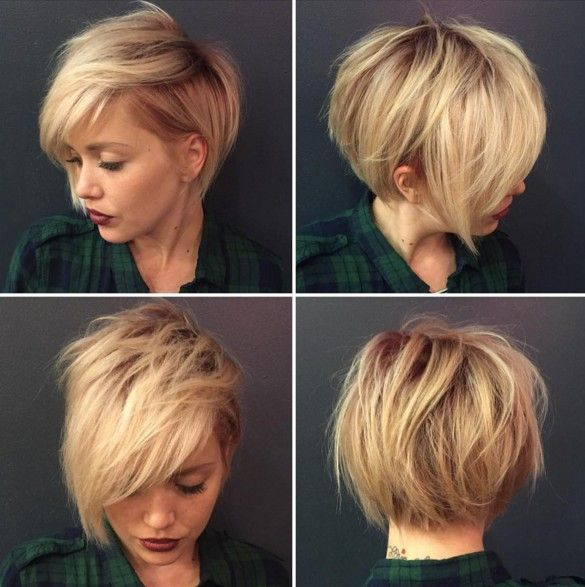 Short Hairstyle Ideas For Your Inspiration (20)