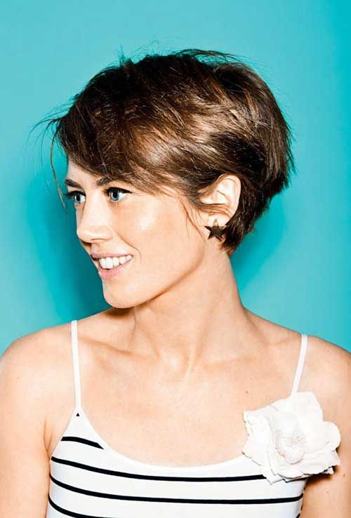 Short Hairstyle Ideas For Your Inspiration (23)