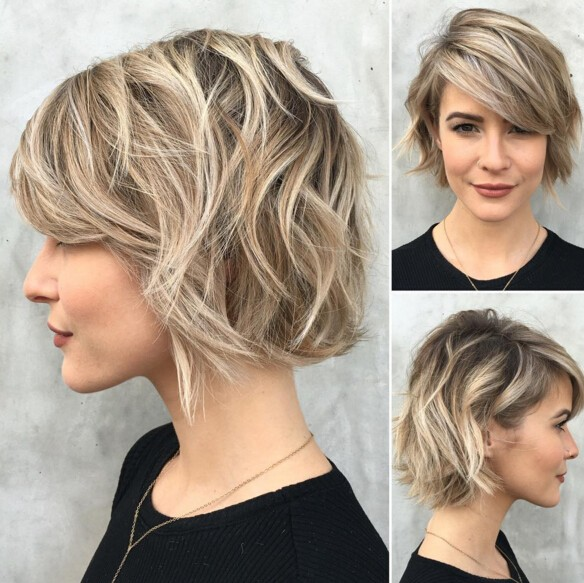 Short Hairstyle Ideas For Your Inspiration (35)
