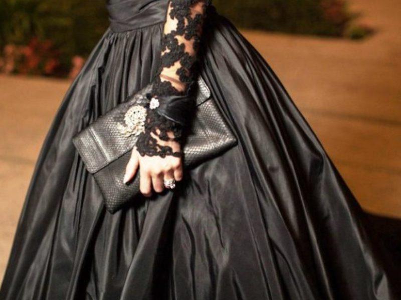 Beautiful Black Wedding Dress Ideas Inspiredluv (1)