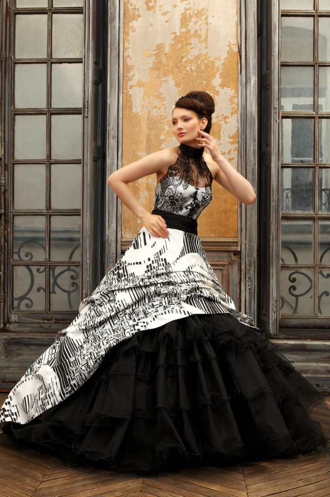 Beautiful Black Wedding Dress Ideas Inspiredluv (12)