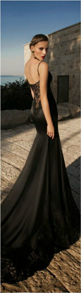 Beautiful Black Wedding Dress Ideas Inspiredluv (16)