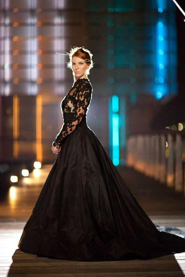 Beautiful Black Wedding Dress Ideas Inspiredluv (21)