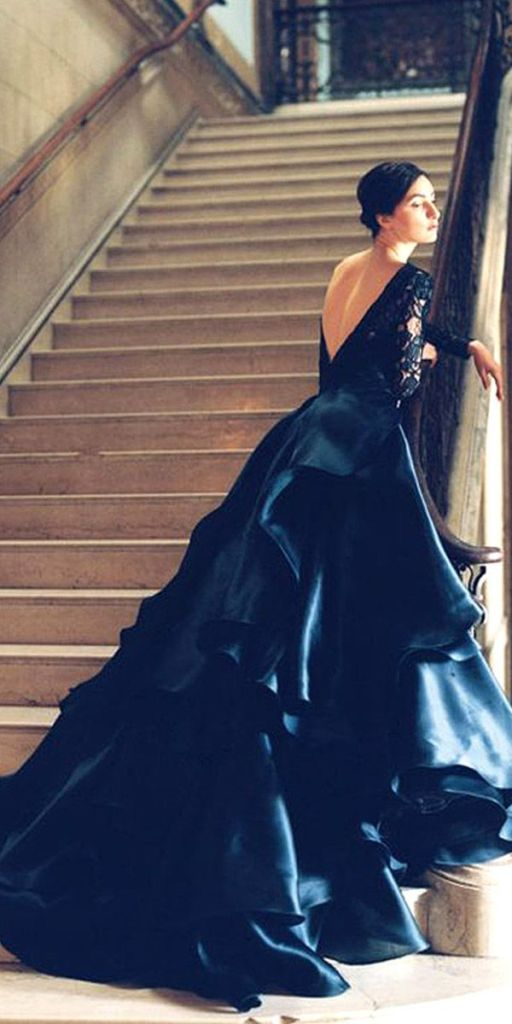 Beautiful Black Wedding Dress Ideas Inspiredluv (6)