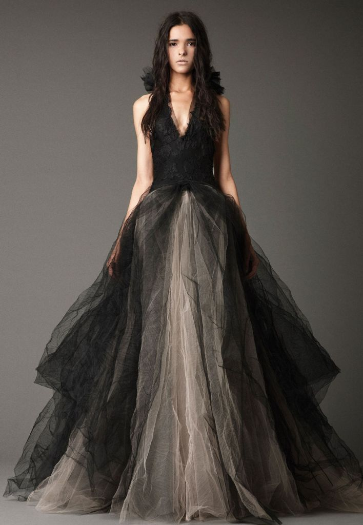 Beautiful Black Wedding Dress Ideas Inspiredluv (7)