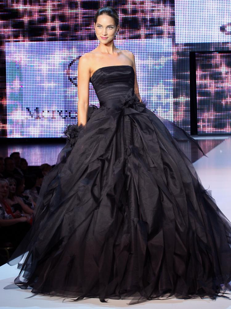 Beautiful Black Wedding Dress Ideas Inspiredluv (8)