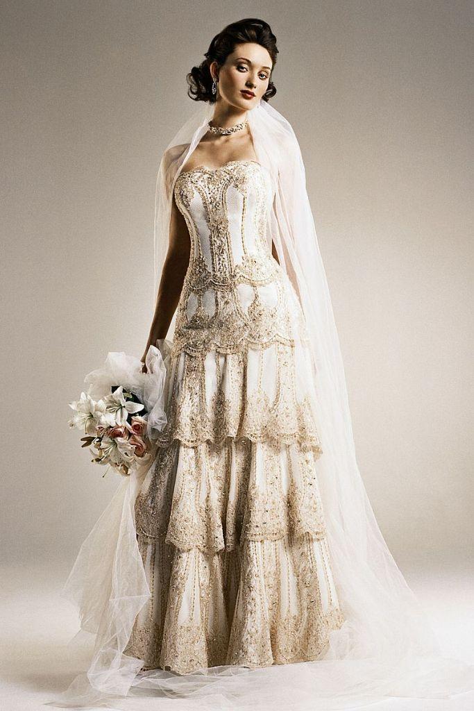 Stunning Vintage Wedding Dress Ideas Inspiredluv (10)
