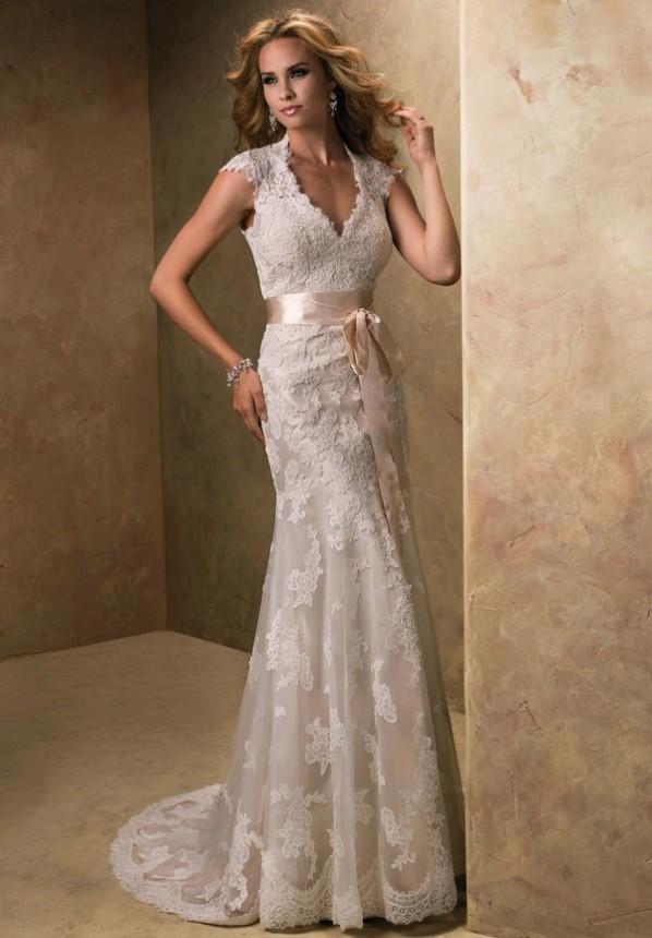 Stunning Vintage Wedding Dress Ideas Inspiredluv (3)