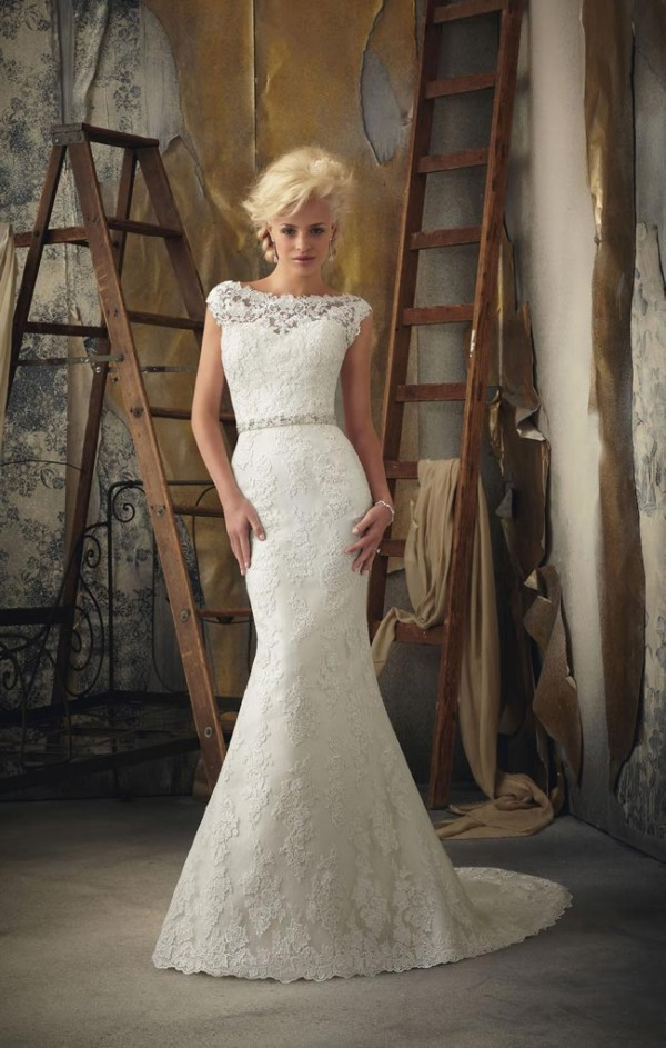 Stunning Vintage Wedding Dress Ideas Inspiredluv (4)