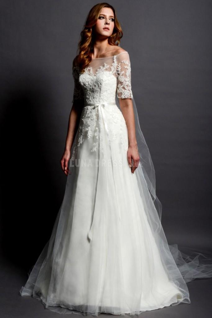 Stunning Vintage Wedding Dress Ideas Inspiredluv (6)