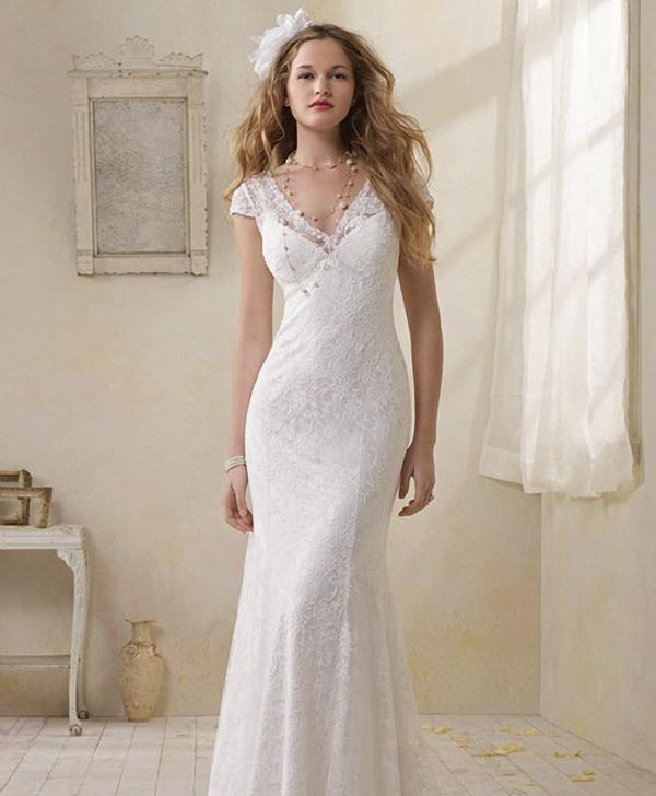 Stunning Vintage Wedding Dress Ideas Inspiredluv (7)