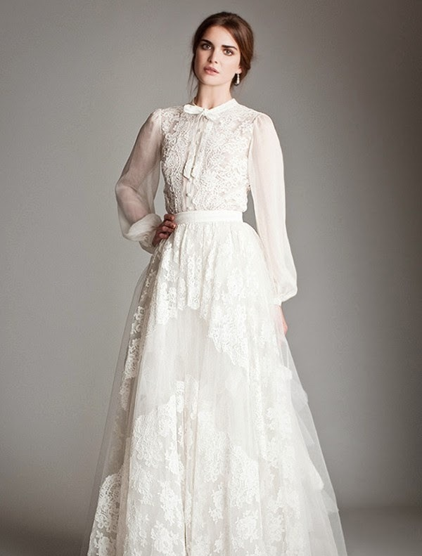 Stunning Vintage Wedding Dress Ideas Inspiredluv (8)