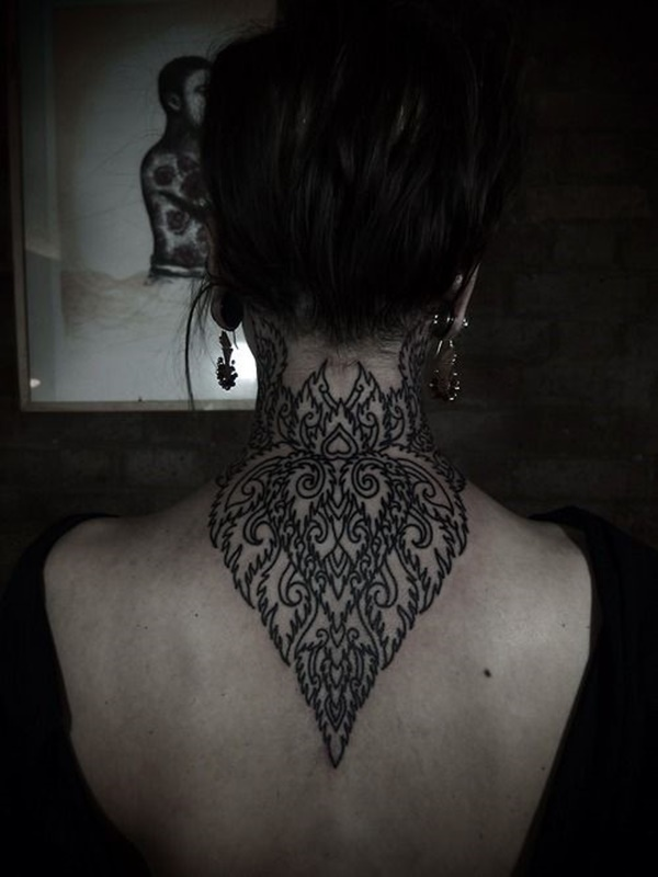 Beautiful Back Tattoos For Women inspiredluv (17)