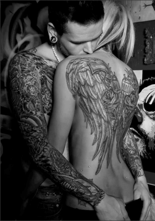 Beautiful Back Tattoos For Women inspiredluv (8)