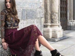 30 Beautiful Women Lace Skirt Ideas